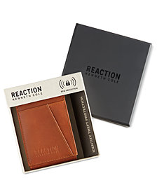 Kenneth Cole Reaction Men's Leather Kevin Front-Pocket RFID Wallet