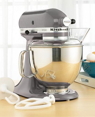 KitchenAid KSM150PSSM Artisan 5 Qt. Stand Mixer - Electrics ...