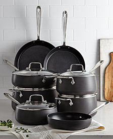 All-Clad Hard-Anodized 13-Pc. Cookware Set