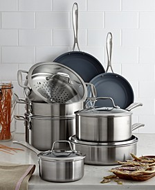 Zwilling Spirit Ceramic Nonstick 12-Pc. Cookware Set
