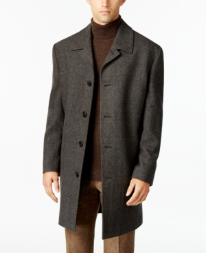 1940s Coats & Jackets Fashion History London Fog Coventry Wool-Blend Overcoat $86.99 AT vintagedancer.com