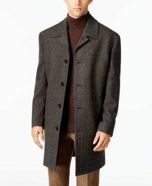 Vintage Coats & Jackets | Retro Coats and Jackets London Fog Coventry Wool-Blend Overcoat $86.99 AT vintagedancer.com