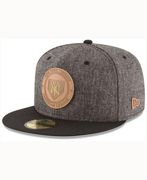 New Era New York Yankees Vintage Tweed 59FIFTY Cap - Sports Fan Shop ... 423e2f44039