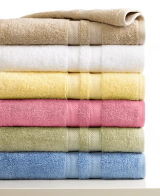 "Image of CLOSEOUT! Sunham Bath Towels, Supreme 13"" Square Washcloth, Only at Macy's"
