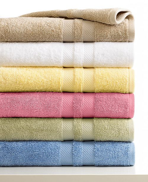 Sunham CLOSEOUT! Supreme Bath Towels Collection, 100% Cotton