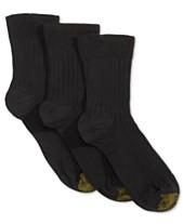113ad4dc1ef Gold Toe Women s 3-Pk. Non-Binding Short Crew Socks