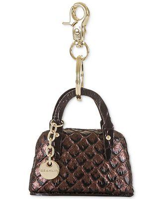 Brahmin Java Handbag Keychain