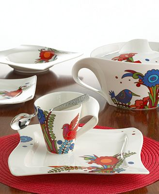 villeroy boch new wave acapulco dinnerware collection dinnerware dining entertaining. Black Bedroom Furniture Sets. Home Design Ideas