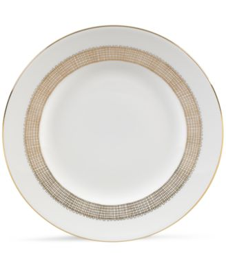 Gilded Weave Gold Salad Plate
