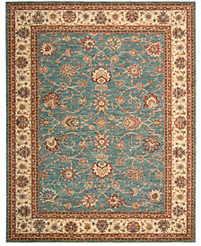 "CLOSEOUT! Nourison Area Rug, Created for Macy's, Persian Legacy PL02 Azure 9' 9"" x 13' 9"""