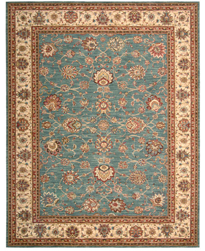 CLOSEOUT! Nourison Area Rug, Created for Macy's, Persian Legacy PL02 Azure 5' 6