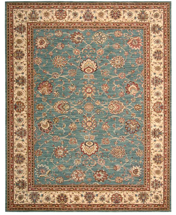"Nourison CLOSEOUT! Area Rug, Created for Macy's, Persian Legacy PL02 Azure 8' 3"" x 11' 3"""