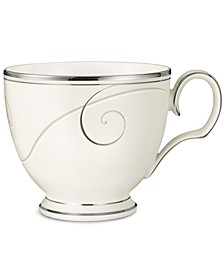 Dinnerware, Platinum Wave Cup