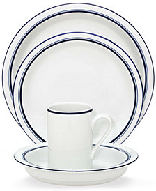 Dansk Dinnerware, Christianshavn Blue, 4-Piece Place Setting