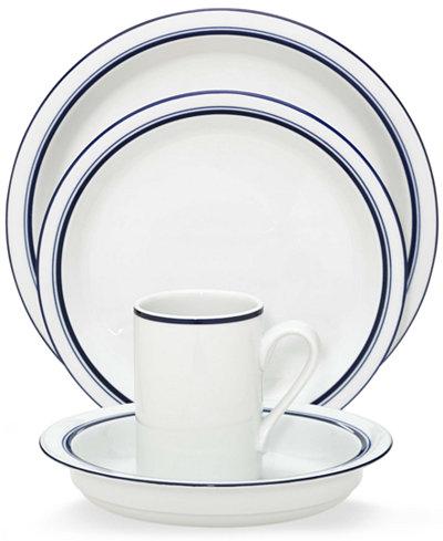 Dansk Dinnerware, Christianshavn Blue, 4-Piece Place Setting