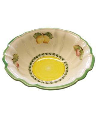 Dinnerware, French Garden Fleurence Fluted Rice Bowl