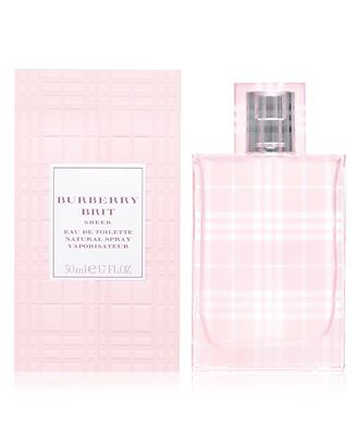 burberry brit sheer eau de toilette spray sqhc  Burberry Brit Sheer Eau de Toilette Spray, 17 oz
