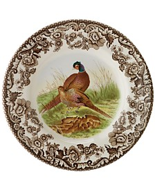"Spode ""Woodland"" Bird Canapé Plates, Set of 4"