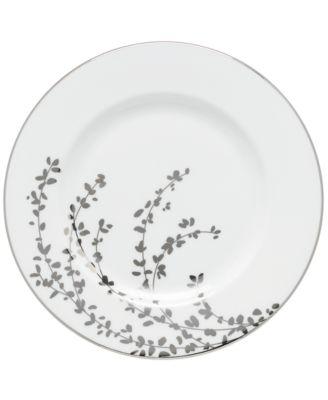 Gardner Street Platinum Salad Plate