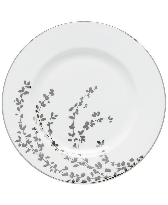 "kate spade new york - ""Gardner Street Platinum"" Salad Plate"