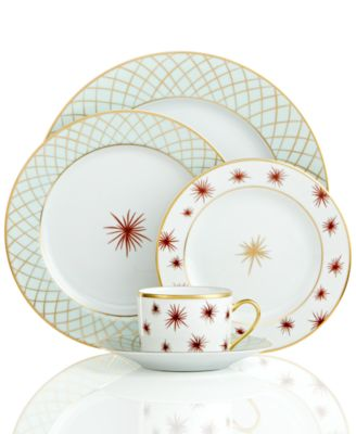 Redefine your dining style with Etoiles dinnerware from Bernardaud. Limoges porcelain embellished with bold starbursts and an intricate gold lattice brings ...  sc 1 st  Macyu0027s & Bernardaud Dinnerware Etoiles Limoges Collection - Fine China - Macyu0027s