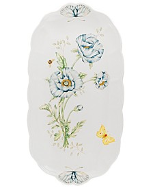 Butterfly Meadow Oblong Sandwich Tray, 14 3/4""