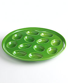 Fiesta Egg Plate