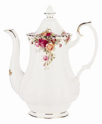 Old Country Roses 42 oz. Coffee Pot