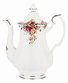 Royal Albert Old Country Roses 42 oz. Coffee Pot