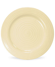 """CLOSEOUT! Portmeirion """"Sophie Conran Biscuit"""" Dinner Plate"""