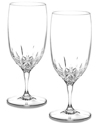Waterford Stemware Lismore Essence Iced Beverage Glasses, Set of 2