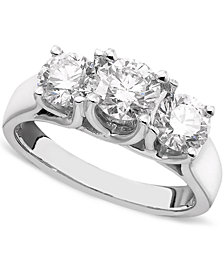 Diamond Ring in 14k White Gold (2 ct. t.w.)