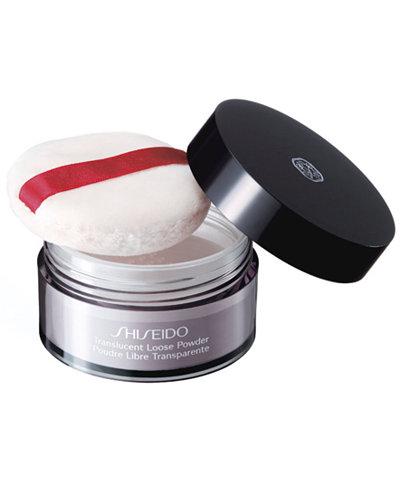 Shiseido Makeup Translucent Loose Powder, 0.6 oz.