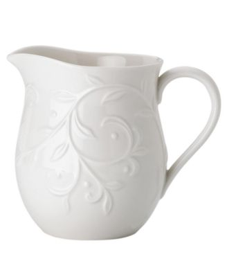Dinnerware, Opal Innocence Carved Creamer