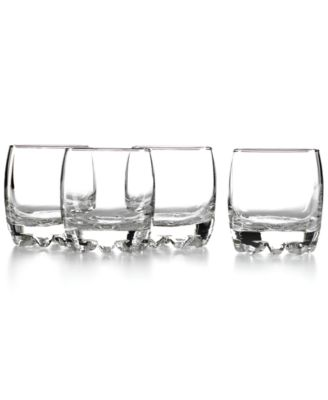 bormioli rocco glassware set of 4 galassia rocks glasses