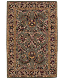 CLOSEOUT! Nourison Area Rug, India House IH18 Green  5' x 8'