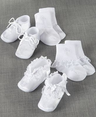 Lauren Madison Baby Low Cut Socks And Shoes Boys Or Girls