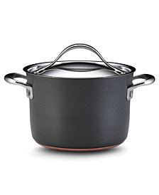 Anolon Nouvelle Hard-Anodized Copper 4 Qt. Covered Saucepot