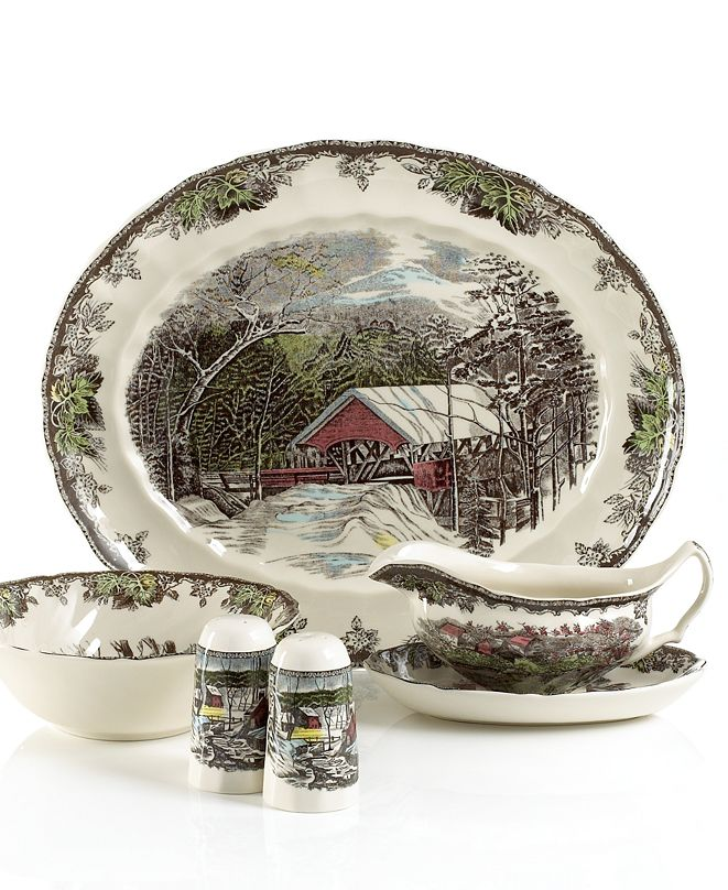 Johnson Bros. Friendly Village 6-Piece Completer Set