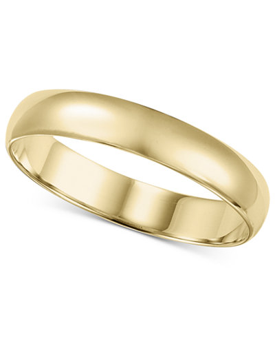 14k gold 2 6mm wedding band - Wedding Band Rings