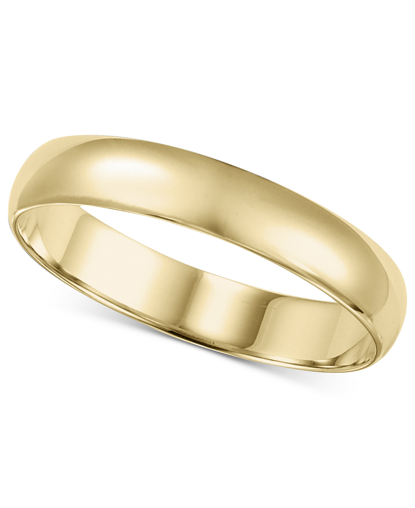 14k Gold 26mm Wedding Band