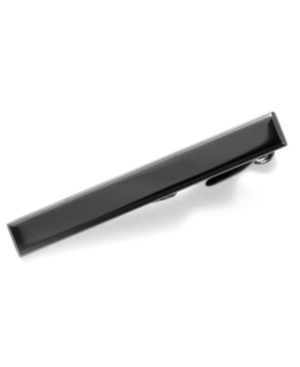 Kenneth Cole Reaction Tie Clip, Polished Hematite Tie Clip with Gift Box