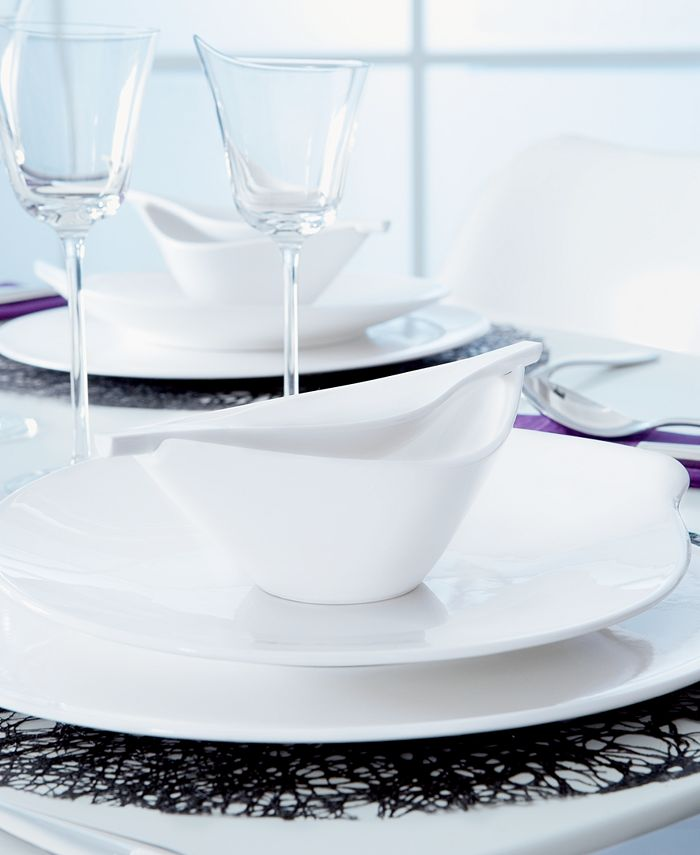 Villeroy & Boch - Dinnerware, Flow Covered Sugar Bowl