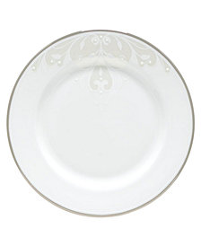 Lenox Opal Innocence Scroll Appetizer Plate