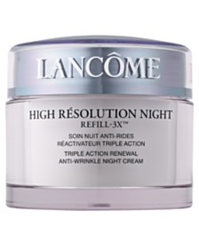 Lancôme High Résolution Refill-3X Anti-Wrinkle Night Moisturizer Cream, 2.6 oz