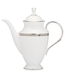 Lace Couture Coffee Pot