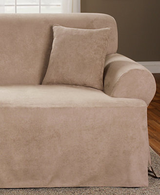 Sure Fit Soft Faux Suede Slipcovers Slipcovers For The