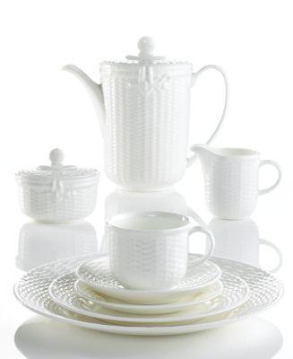Wedgwood Dinnerware Nantucket Basket Collection  sc 1 st  Macy\u0027s & Wedgwood Dinnerware Nantucket Basket Collection - Fine China - Macy\u0027s