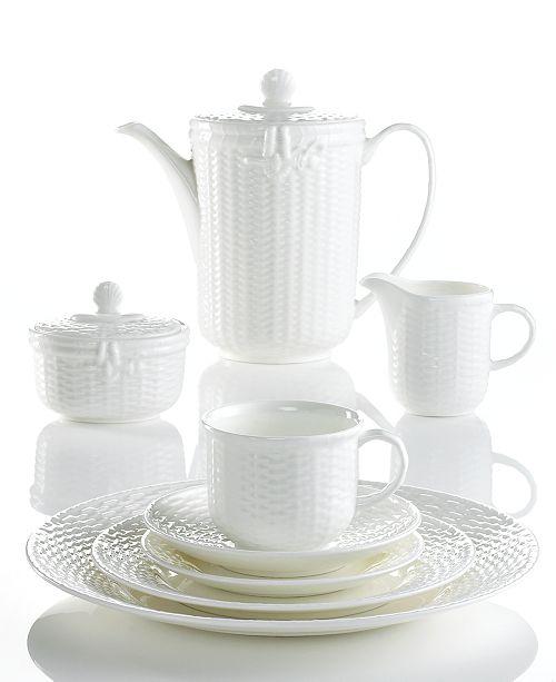 Wedgwood Dinnerware, Nantucket Basket Collection