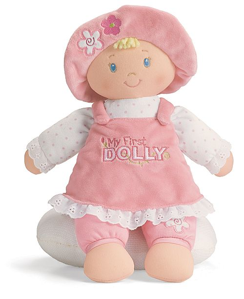Gund Baby Girl My First Dolly Playset All Toys Games Kids